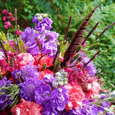 Summer flowers from the cutting garden
